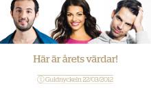 Ismail, Schulman och da Silva håller i rodret på Guldnyckeln 2012