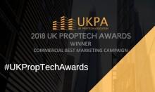 Datscha receives prestigious award at the UK PropTech Awards 2018