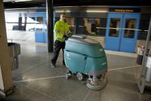 Ny städteknik i tunnelbanan sparar in sextiotusen liter kemikalier varje år
