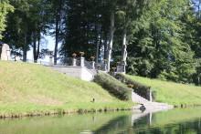 Stor renovering av Göta kanal i Motala