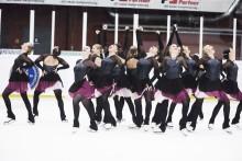 9:e och 10:e plats för Sverige i Junior-VM i synkroniserad konståkning
