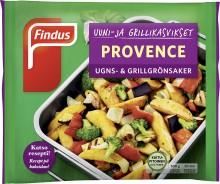 Findukselta monipuolisia kasvissekoituksia uuniin, pannulle ja grilliin!