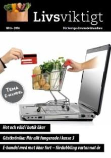 E-handel med livsmedel ökar fort – fördubblas vartannat år