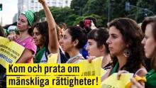 Amnesty i Almedalen - heldag med seminarier på torsdagen och tält under veckan