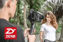 Stabil filming med Zhiyun Crane 2 – verdens første 3-aksede gimbal med innebygget fokusfølging