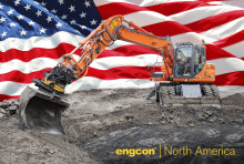 Engcon tiltrotator effektiviserar grävandet i USA och Kanada