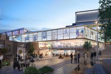 Skandia Fastigheter väljer TL Bygg för nästa etapp i ombyggnationen av Mörby Centrum