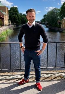 Han blir ny näringslivschef i Arboga kommun