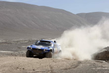 Volkswagen tar ledningen i Dakar-rallyt