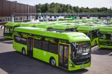 Grønne elbusser på veien i Norges største busskontrakt