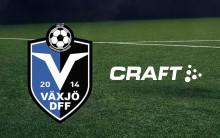 Craft blir ny partner till hårdsatsande Växjö DFF