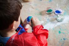 Förskolor firar barnkonventionens dag