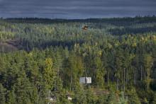 Sveriges första Zip Line i världsklass byggs i Småland
