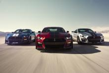 A történelem legerősebb országúti Fordja: a vadonatúj Shelby GT500 lesz a közutak, a versenypályák és a gyorsulási versenyek eddigi legfejlettebb Mustang modellje
