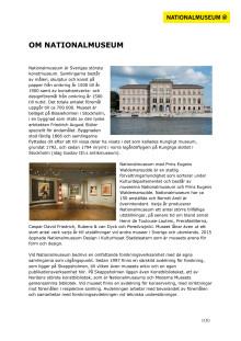 Om Nationalmuseum och samlingarna
