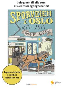 Årets julegave: Tegneserieheftet om Sporveishistorien!