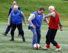 ​​Fred. Olsen Cruise Lines and the Suffolk Football Association host the first-ever game of 'Walking Football at Sea'