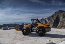 "Projekt ""Tetra"": Radlader fährt künftig mit Biomethan"