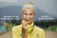 """Jenny Rissveds: """"Jag tänkte att jag kanske ska byta sport"""""""