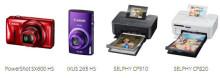 Fånga, skapa och dela speciella minnen med Canons PowerShot SX600 HS, IXUS 265 HS, SELPHY CP910 och SELPHY CP820
