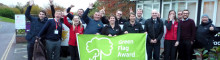 Ground Control join Southampton Solent to celebrate first Green Flag Award
