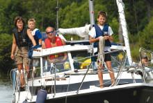 Göta kanal lockar barnfamiljer