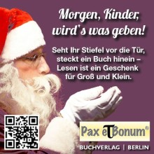 Der Pax et Bonum Verlag, wünscht allen Kindern auf der Welt, einen schönen Nikolaustag