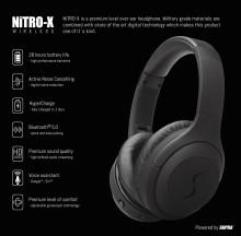 SUPRA NiTRO-X Over-ear – Optimal komfort och brusreducering (ANC)
