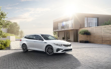 Oppgradert Kia Optima vises på Geneva Motorshow 2018