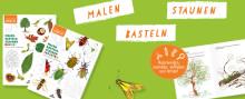 Malen, Basteln, Staunen - Die neuen Mitmachbücher rund um das Thema Natur