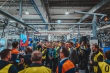 Duurzaamheidstournee Vlaamse Ondernemers start met Jan Jambon in nieuwe batterijfabriek elektrische wagens Volvo Car Gent en werfbezoek aan eerste Europese bio-ethanolinstallatie bij ArcelorMittal Belgium