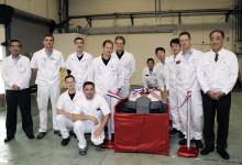 Honda firar produktionsstarten för den nya robotgräsklipparen Miimo