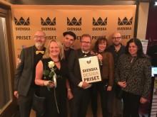 Vinst i Svenska Designpriset  för KUST Hotell och Helikopter