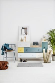 Tänk kreativt när du målar om dina möbler