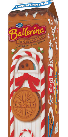 Ballerina Pepparkaka vinnare av Packaging Design Award 2014