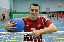 Goalball player Dan Roper from Hereford named as SportsAid's athlete of the month