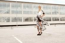 Edwin Trieu visar under Mercedes Benz Fashion Week