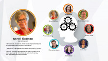 """Anneli Godman  - """"den ofrivillga stressexperten"""" talar under ledarskapskonferens i Sickla den 26/1"""