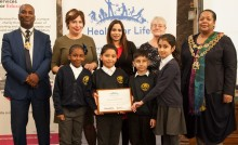 Primary school pupils awarded for healthy lifestyles