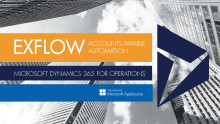 Manage your supplier invoices in the cloud, with new ExFlow for Dynamics 365 for Operations.