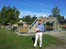Kompan inviger Classic Multisportarena på Hälsodagen i Ockelbo!