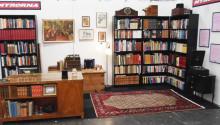 Sveriges största antikvariat flyttar in på Bokmässan