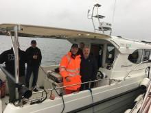 Skanner havbunnen etter spor fra Slaget i Hafrsfjord