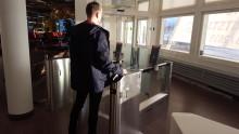 Self-service boarding gater invigda på Åre Östersund Airport
