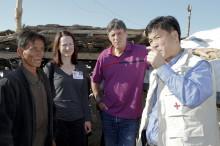 Röda Korset vittnar om en skör humanitär situation i Nordkorea
