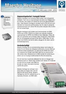 Maestro Heritage EDGE modem GPRS och GSM data