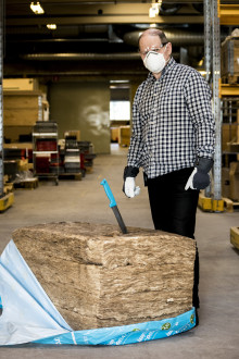 Historie: Thomas Eriksson om KI-kniven: «Som tømrer ville jeg aldri ha valgt en annen kniv»