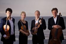 Internationell och känslosam stråkkvartett gästar Landskrona