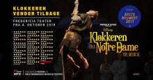 Disneys KLOKKEREN FRA NOTRE DAME genopsættes på Fredericia Teater i en kort periode!