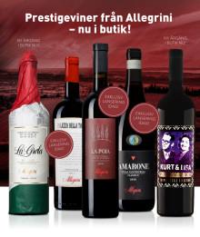 Prestigeviner från Allegrini - nu i butik!